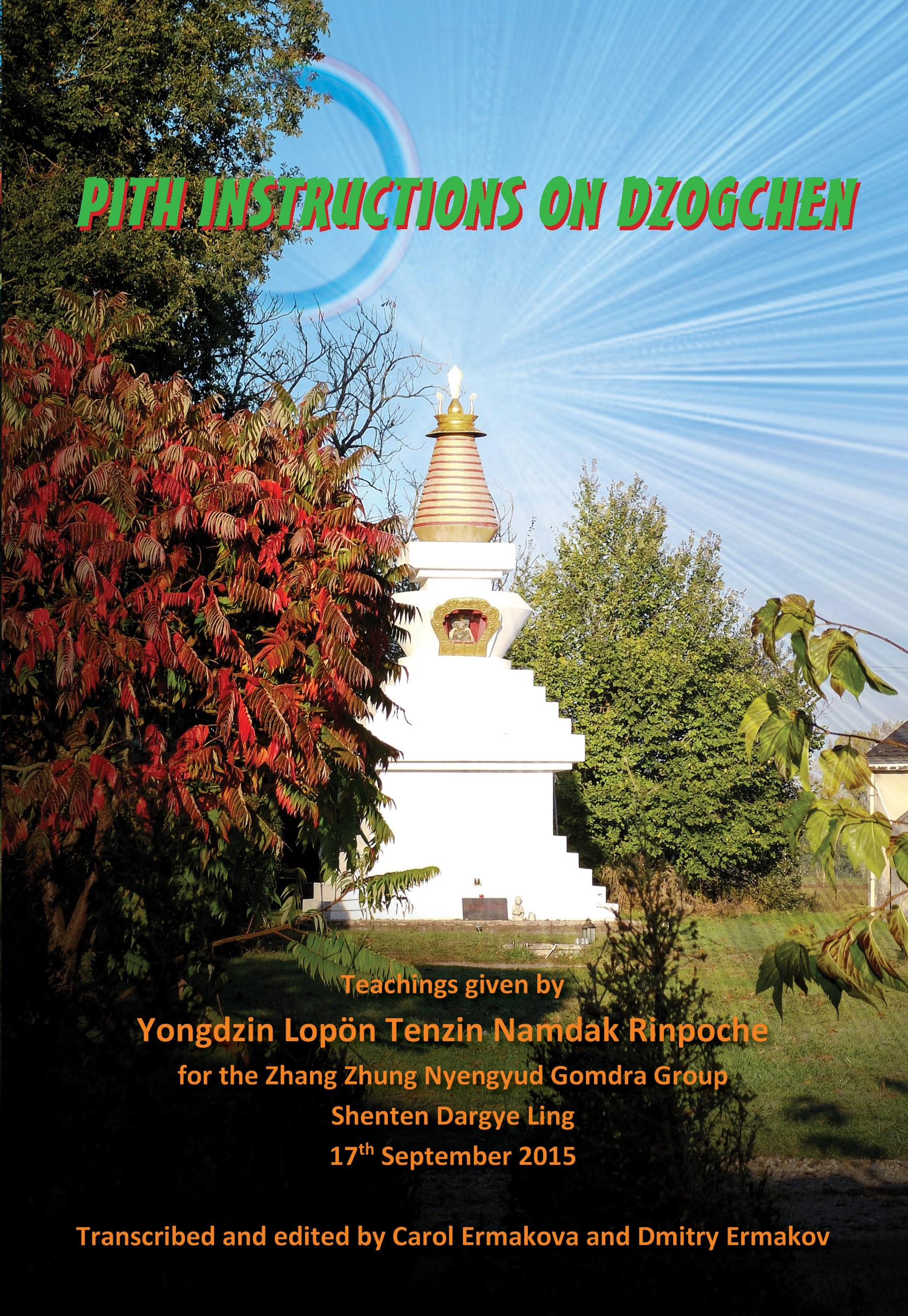 Pith Instructions on Dzogchen | Vajra Books - Vajra bookshop ,Dharma
