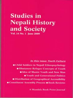 Studies in Nepali History and Society (SINHAS): Vol.14, No.1 June 2009