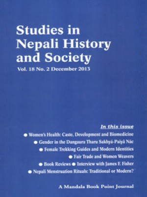 Studies in Nepali History and Society (SINHAS): Vol.18 No.2 December 2013