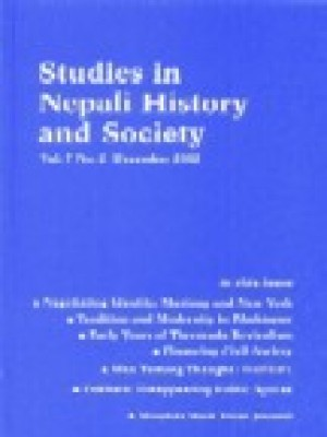 Studies in Nepali History and Society (SINHAS): Vol.7, No.2 December 2002