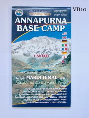 Annapurna Base Camp 1:50000