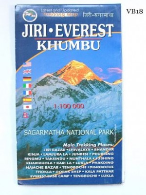Jiri Everest Khumbu 1:100000