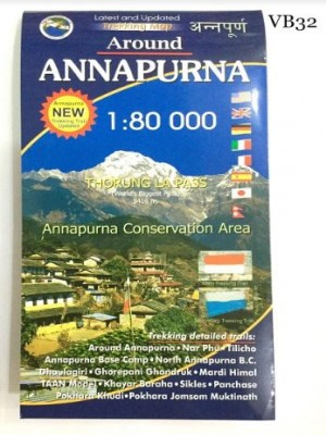 Around Annapurna 1:80000