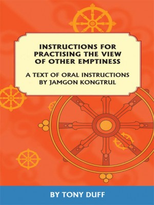 Instructions For Practising The View  Of Other Emptiness: A Text Of Oral Instructions  By Jamgon Kon