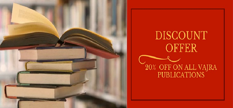 DISCOUNT OFFER! 20% off on all Vajra Publications.